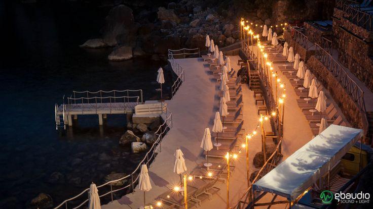 Bulbs at Hotel Il Pellicano