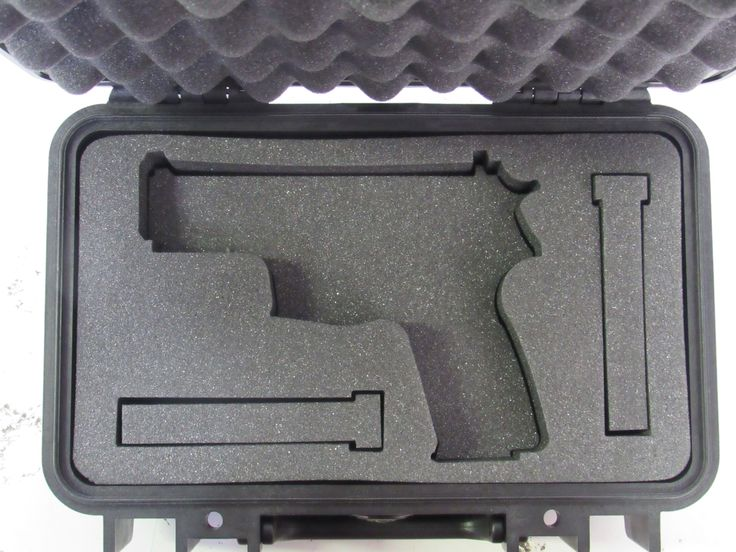 Pelican Case 1170 Foam Insert for Sig Sauer 229 & Magazines (FOAM ONLY)