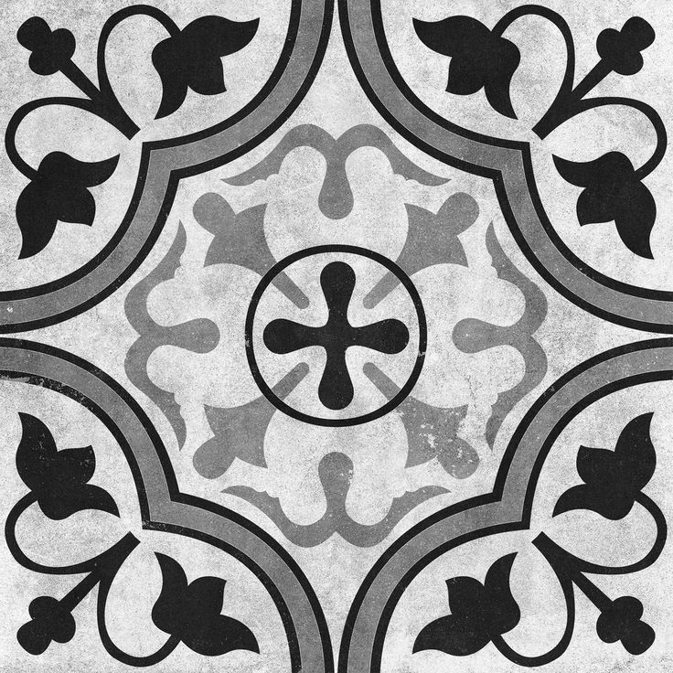 Cementine Contrast Foglie Glazed | Interceramic USA