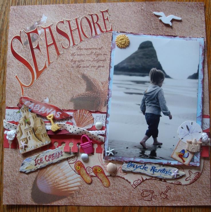 Sea Shore - Scrapbook.com