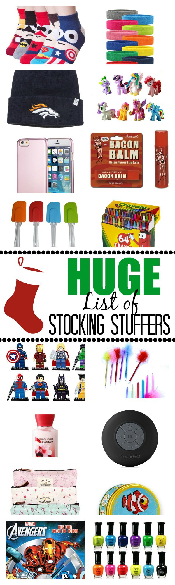 Stocking Stuffer Ideas for Men, Women, Teenagers and more
