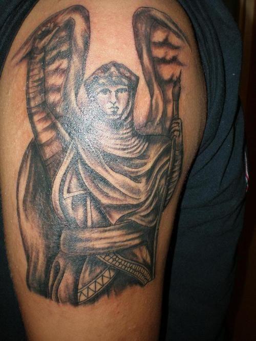44 best Archangel Gabriel Tattoos images on Pinterest | Arcángel gabriel, Tatuaje de ángeles y ...