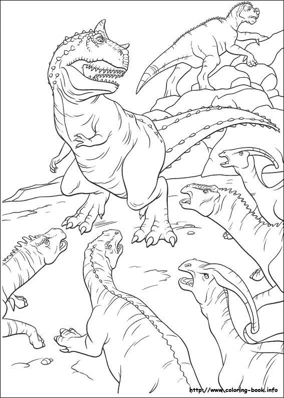 25+ unique Dinosaur coloring pages ideas on Pinterest