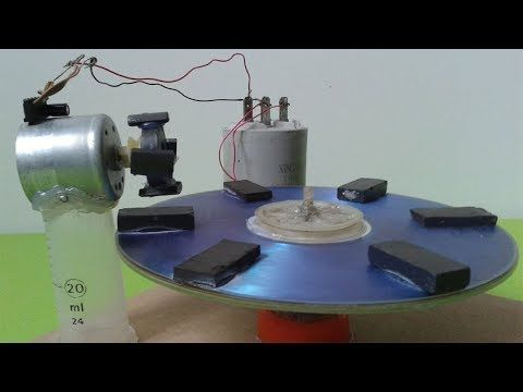 How To Make Self Running Free Energy Generator That's 100% Working - Self Running Machine - YouTube