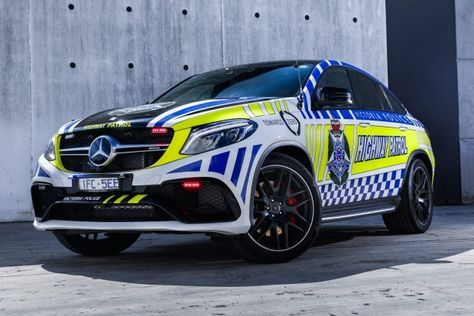 #VictoriaPolice #MercedesAMG GLE63 Coupe http://www.benzinsider.com/2016/03/victoria-police-now-use-the-mercedes-amg-gle63-coupe/