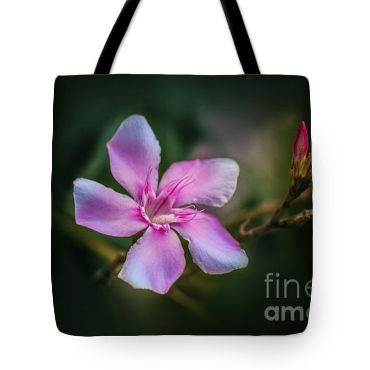 "Bud and Blossom  Tote Bag 18"" x 18"""