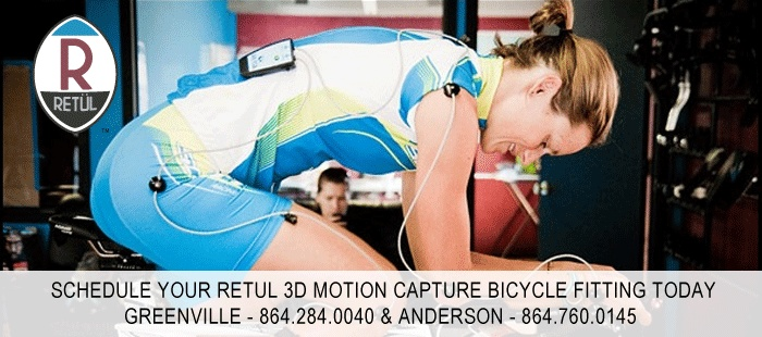 Ride On's Retul 3D Motion Bicycle Fitting a try. Best way to get the most out of your cycling