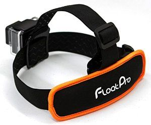 2-in-1 GoPro Floating Head Strap. Must-have GoPro accessory! http://www.floatpro.co
