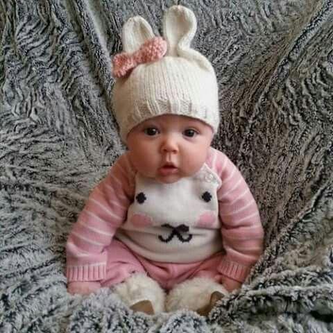 Petit lapin rose