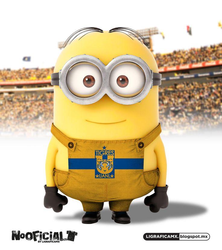 #Soccer #minion #NoOficial #LigraficaMX @cheryl ng ng ng Blondin TIGRES