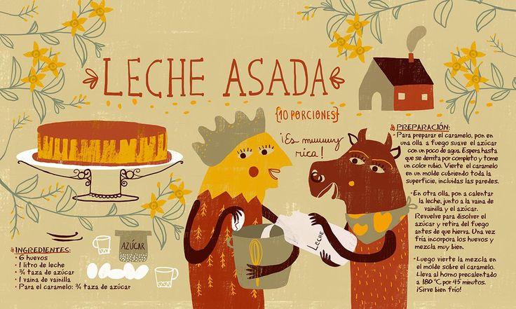 Receta ilustrada de Pati Aguilera