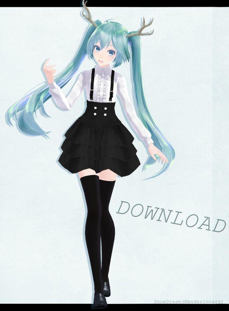 Tda Miku Spirit DL by Mandarincate on DeviantArt