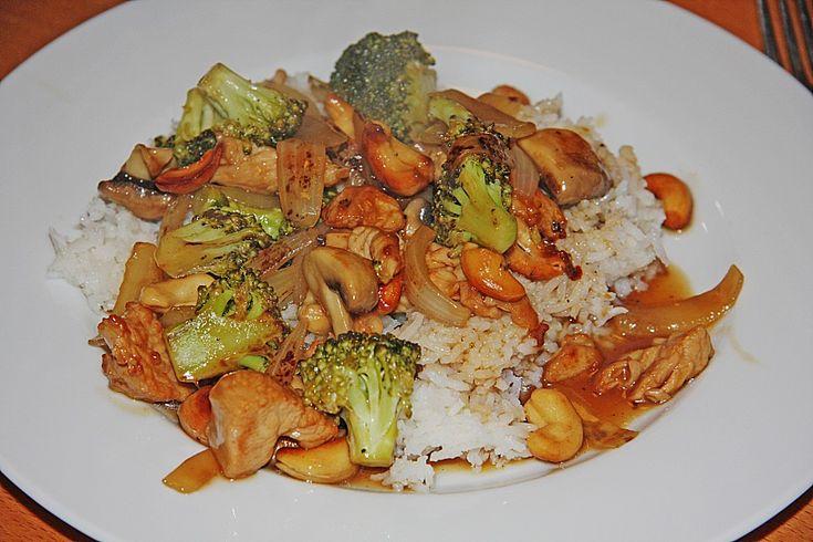 Chinesische Hähnchenbrust mit Brokkoli, ein leckeres Rezept aus der Kategorie Geflügel. Bewertungen: 29. Durchschnitt: Ø 4,3.