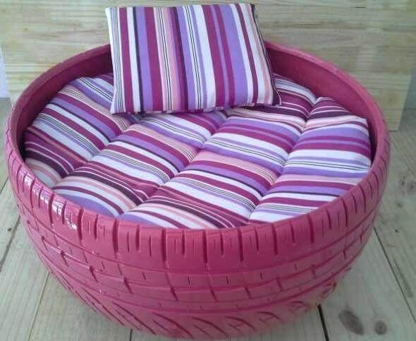 Aprenda a fazer uma cama artesanal para seu gatinho 010