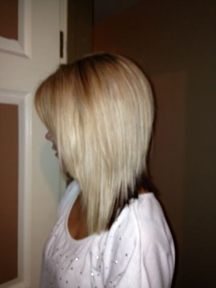 Long Inverted Bob Search Hair Nails Make