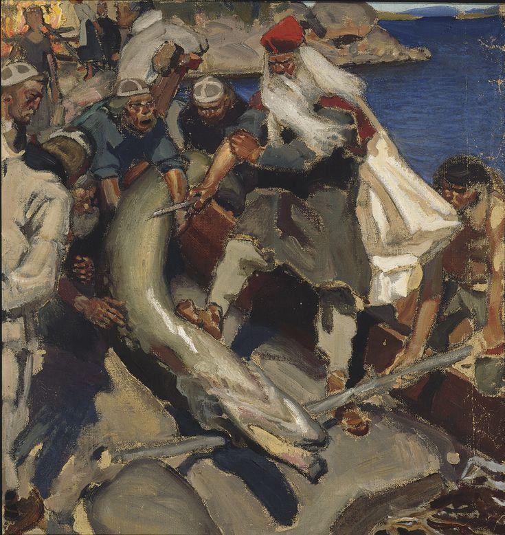 Suuri hauki, 1904.