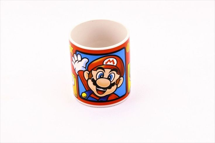Official Nintendo Super Mario Brothers Luigi Ceramic Mug Cup Collectable 2014