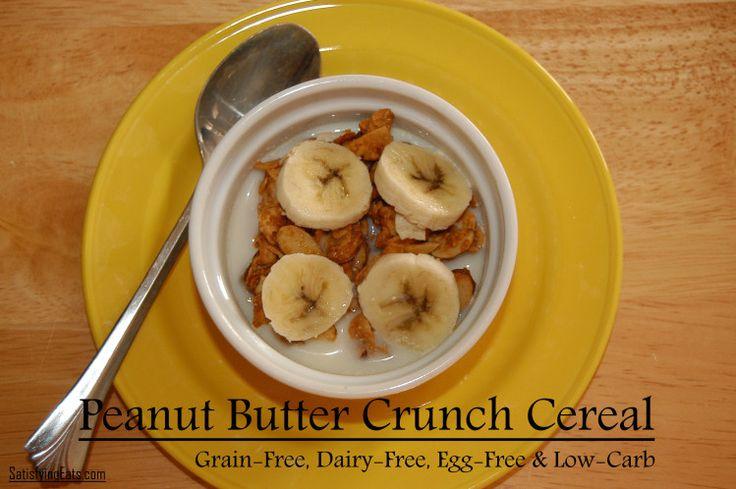 GF,DF,SoyF Peanut Butter Crunch Cereal