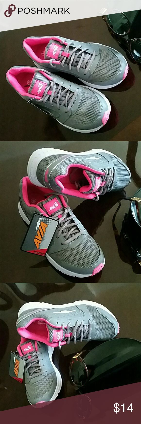RUNNING GYM SNEAKERS AVIA NEW Size 9 Brand new AVIA Running Gym Sneakers. Size 9  FREE GIFT INCLUDED AVIA Shoes Sneakers