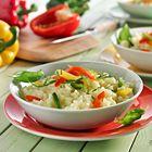 Een heerlijk recept: Risotto met paprika en saffraan