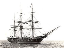 Sloop-of-war - USS Portsmouth in 1896 (Wikipedia, the free encyclopedia)