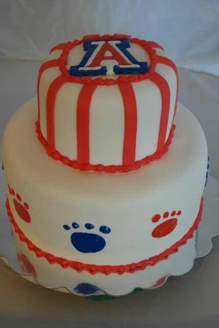 University Of Arizona Cake Topper
