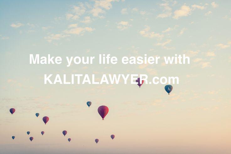 Make your life easier with kalitalawyer.com