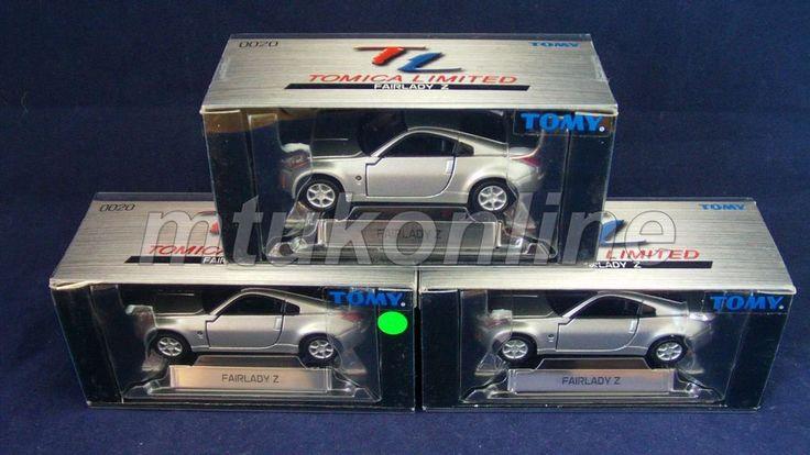 TOMICA TL 20 | NISSAN FAIRLADY 350Z Z33  | 1/58 | SILVER | ST 2002 BOX | AS LOT