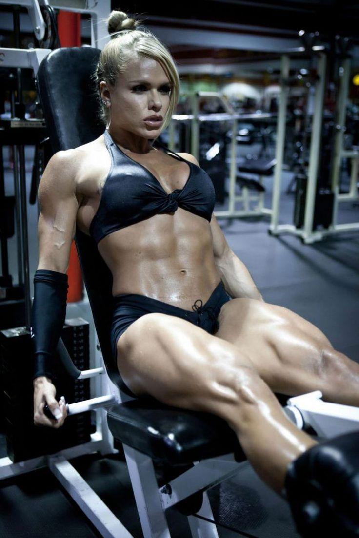 Resultado de imagen para mujeres culturismo fitness