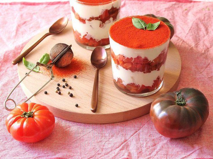 Tiramisu tomates