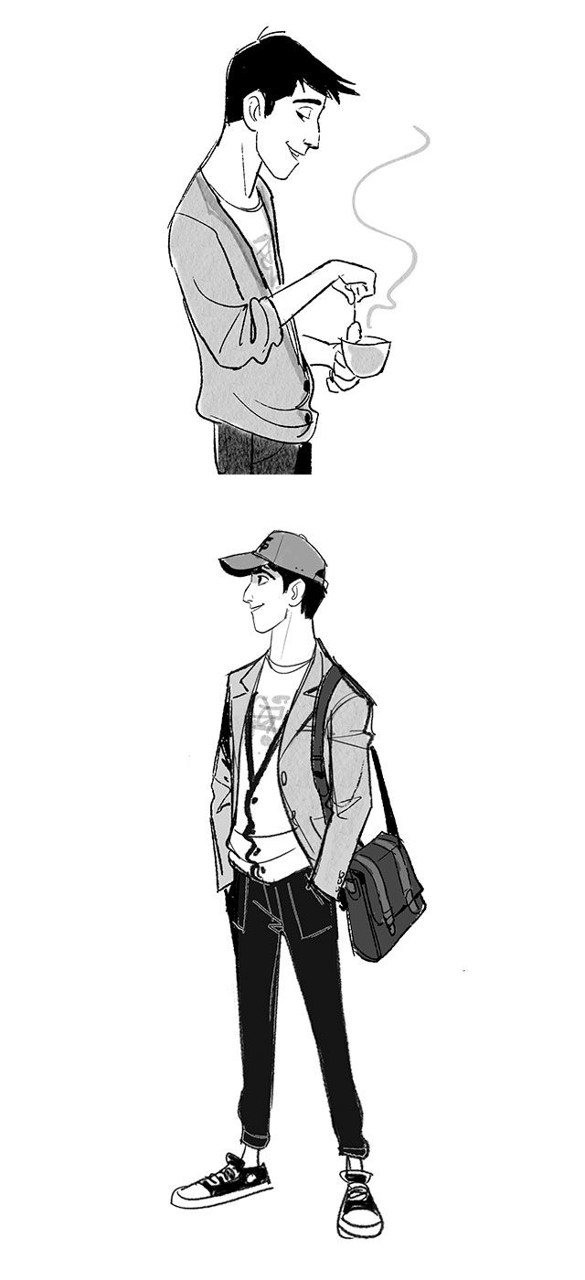 Jin Kim - Tadashi Big Hero 6 concept. Excuse me while I bawl over this amazing character...