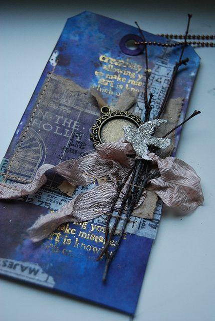 Blue Tag by muzamama, via Flickr