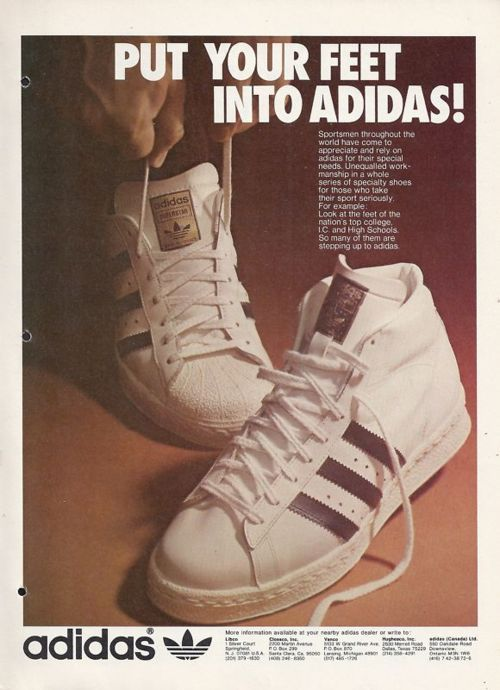 adidas going old skool