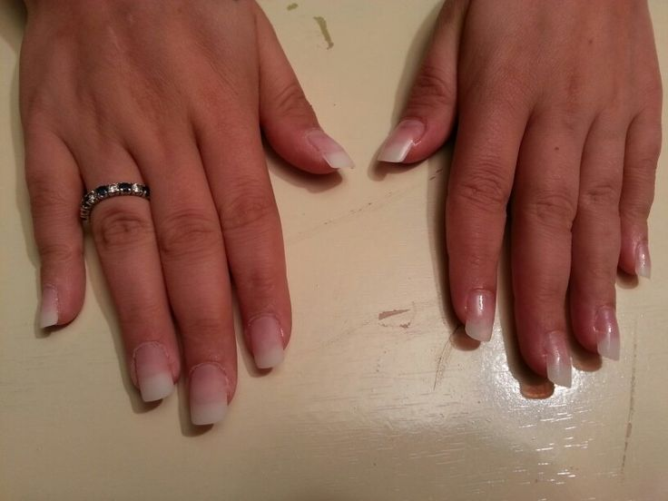 Nail sculpting on my bff.