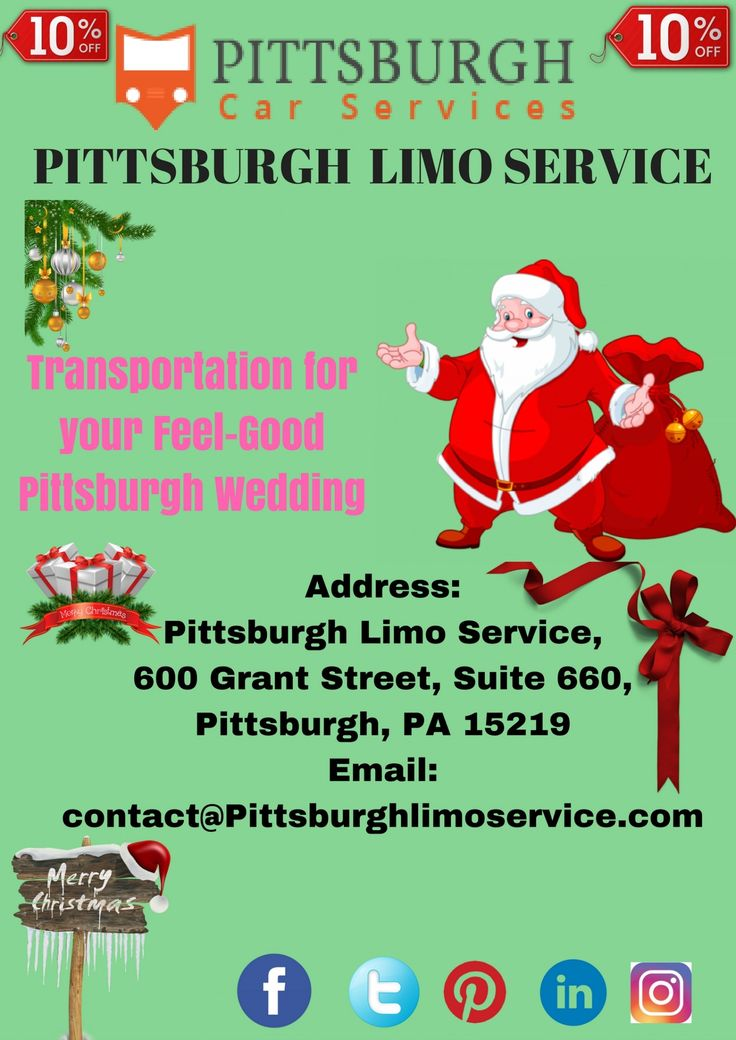 Black Car Service Pittsburgh Infographic