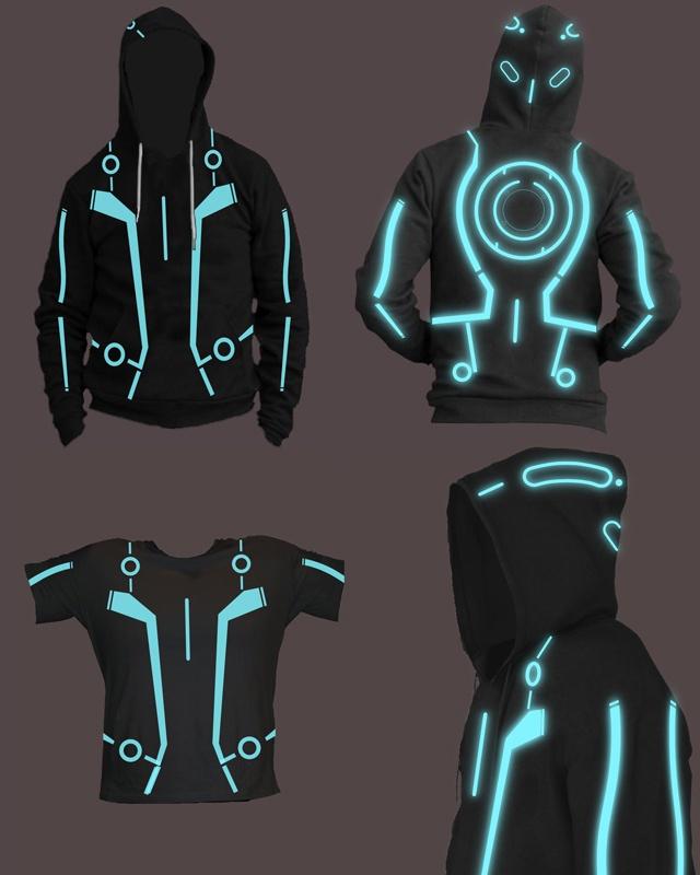 Tron Jacket Concept #Tron
