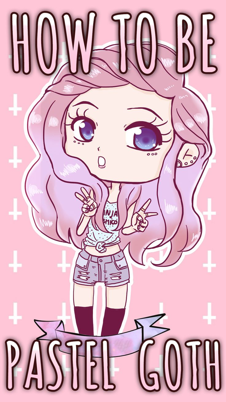 How to be Pastel Goth - Ultimate Guide   Learn everything about the Pastel Goth style, leggings, pastel hair and much more kawaii stuff!  http://ninjacosmico.com/how-to-pastel-goth/