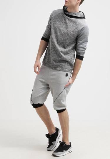 Humör Nabi Pantalón De Deporte Llight Grey Melange ropa pantalones hombre pantalon Nabi Melange Llight humor Grey deporte Noe.Moda