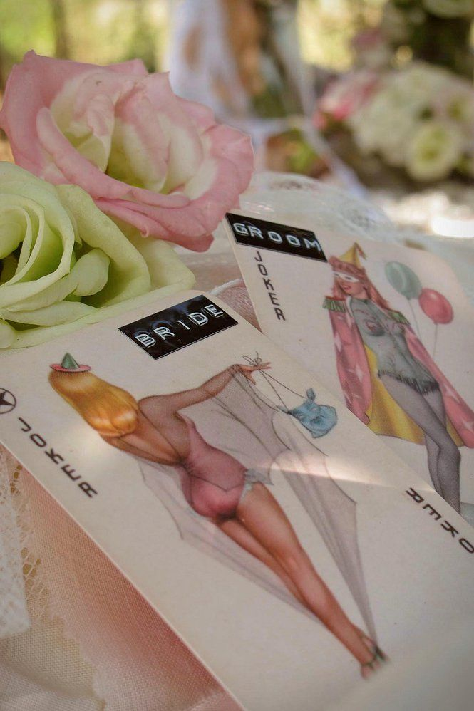 Pin up playing card name places from Cotton and Beau.