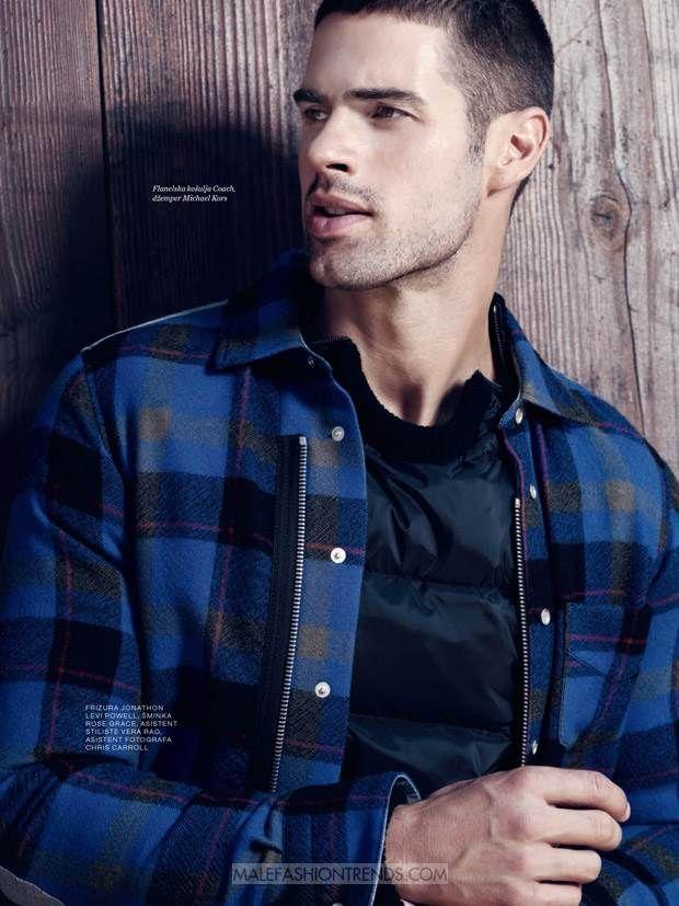 Male Fashion Trends: Chad White por Sinem Yazici para Men's Health Serbia