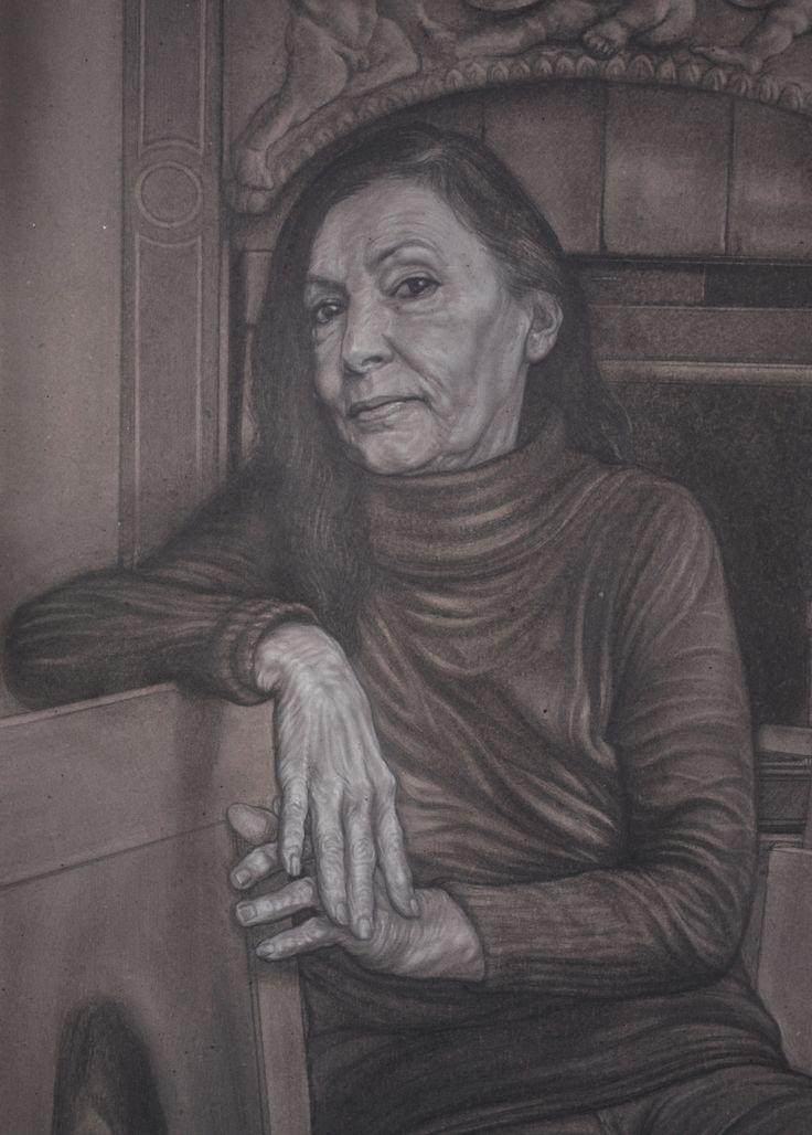 """The artist Ilia Rubini"" detail"