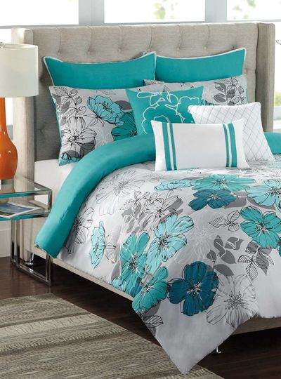 Best 25 Turquoise Bedspread Ideas On Pinterest Blue Bed