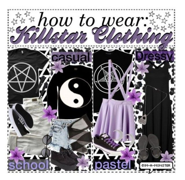 """""""☥ How To Wear Killstar Clothing ☥"""" by acidland-tippers ❤ liked on Polyvore"""