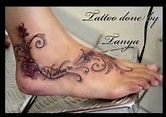 Image result for ankle tattoo designs with kids name