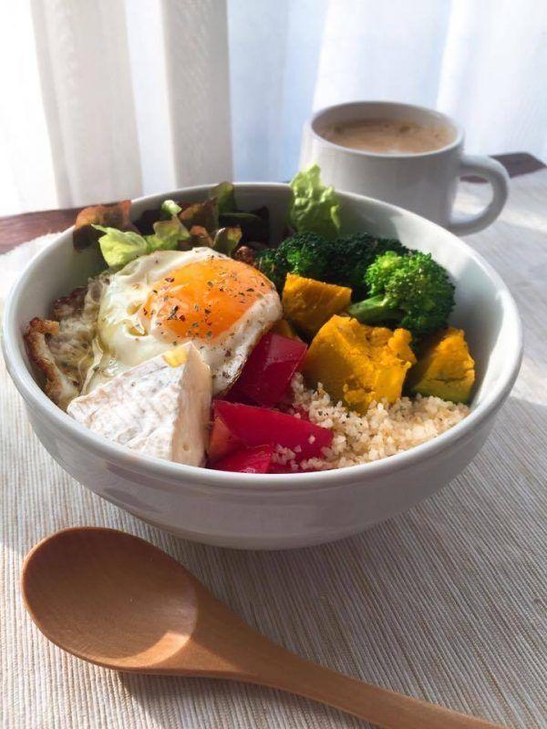 5分で完成栄養バランス抜群のヘルシーレシピサラダ朝ごはん