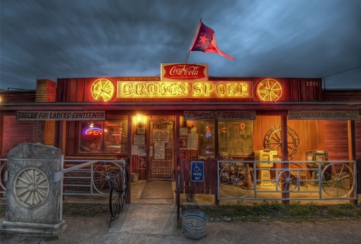 "This is the famous Broken Spoke in Austin. It's hosted some of country music's best and it is widely seen as the ""last of the true Texas dancehalls""."