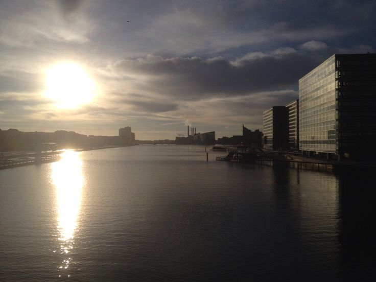 Winther sun over Cph habour