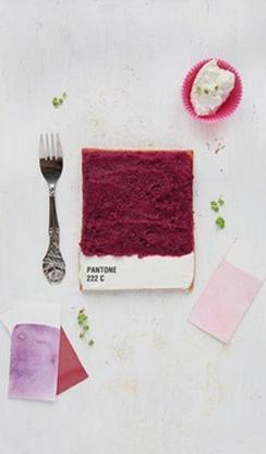 Emilie de Griottes, Pantone Tarts Pantone 222 C…