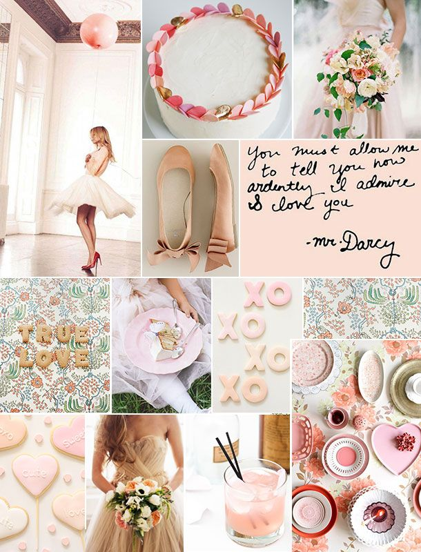 Valentine's Pastel Inspiration Board | Camille Styles