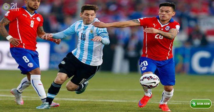 Truc tiep Argentina vs Chile